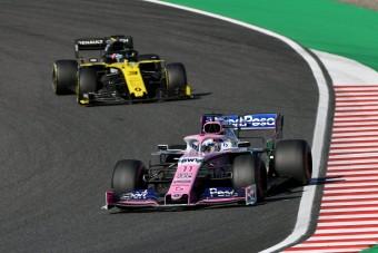 F1: Szabálytalan lehet a Renault autója