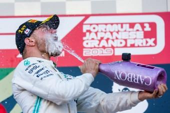 F1: Bottas nagy ajándékot kapott 2019-re