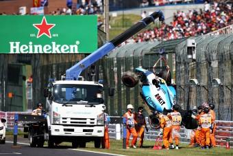 F1: Roncsderbi és Vettel-pole a japán időmérőn