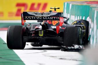 F1: Kettőből kettő piros zászló Mexikóban