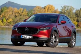 Mazda CX-30: orvosi rendelvényre