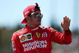 F1: Leclerc magára vállalta a hibát