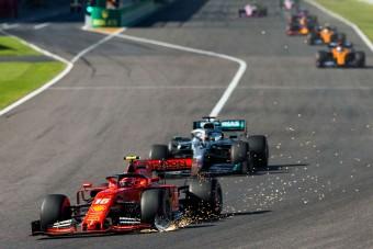F1: Leclerc közveszélyes volt