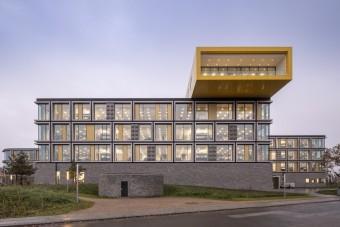 Mintha építőkockából készült volna a LEGO új campusa
