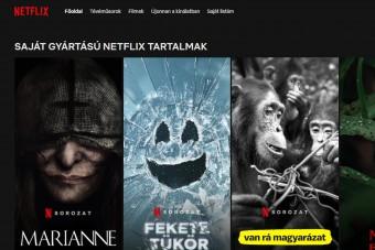 És BUMM! - Mostantól teljesen magyar a Netflix felülete, jönnek a szinkronos premierek is
