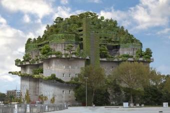 Náci bunkerből épül luxushotel Németországban