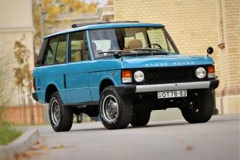Egy autóból négy lett - Range Rover Classic
