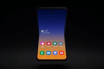 Új hajtogatós telefonon gondolkodik a Samsung