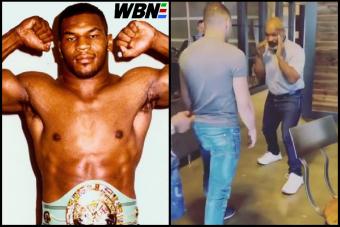 Az 53 éves Mike Tyson villantott pár ütést videón, naná, hogy megőrült tőle a net