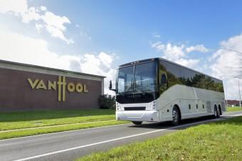 Elektromos távolsági buszt mutat be a Van Hool
