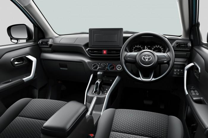A legkisebb Toyota crossover egy Daihatsu 5