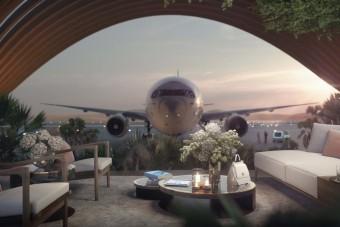 2022-ben nyílik a világ legzöldebb luxusreptere