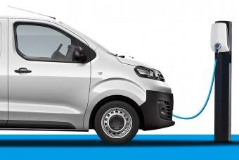 Jönnek a Peugeot villanyfurgonjai