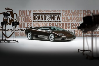 Az utolsó új Lamborghini Diablo