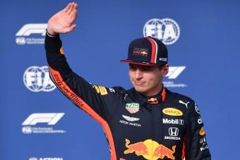 F1: Verstappennél nincs most jobb versenyző