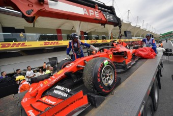 F1: A Ferrari átment a törésteszten