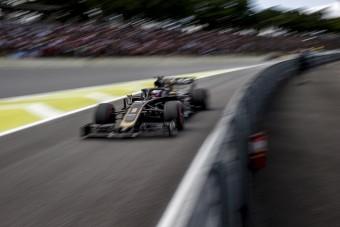 F1: A fellegek felett járnak a Haasnál
