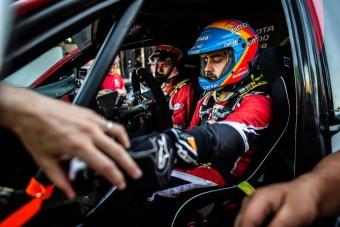 F1: Megvan Alonso első ralis dobogója