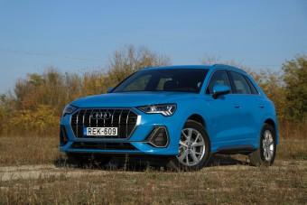 Semmi trükk - Audi Q3