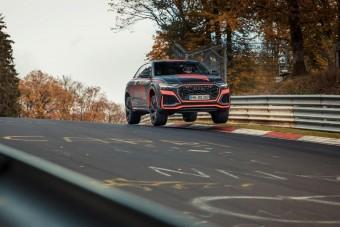 Az Audi RS Q8 a Nürburgring leggyorsabb behemótja