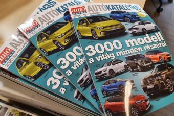 Megjelent a 2020-as Autókatalógus!