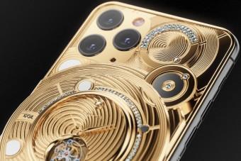 Fél kiló arannyal tuningolták fel az új iPhone-t
