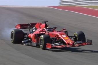 F1: Vettel nem érti a kiesés okát