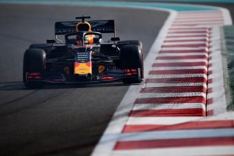 F1: Verstappené 2019 utolsó szabadedzése