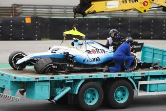 F1: A Haast okolja balesete miatt Kubica