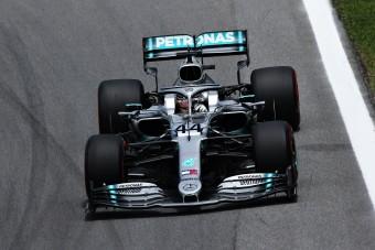 F1: Hamilton a leggyorsabb a brazil időmérő előtt