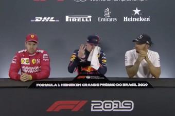 F1: Ment az adok-kapok az interjúszobában is