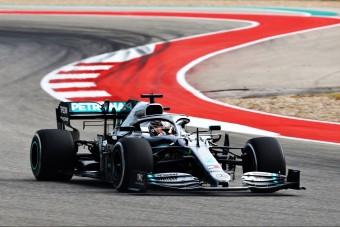 F1: Hamilton a pénteki nap legjobbja