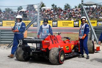 F1: Gondok a Ferrarinál az időmérő előtt