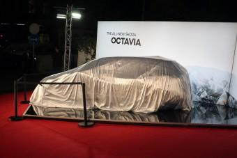 Bréking: a legelső képek és videó az új Škoda Octaviáról