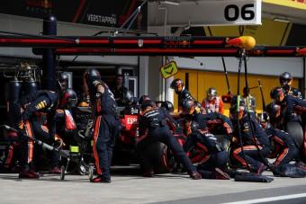 F1: Saját világrekordját döntötte meg a Red Bull