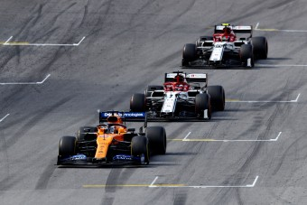 F1: Räikkönen nem elégedett a 4. hellyel