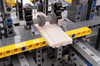 Komoly munkagépeket is lehet készíteni Legóból