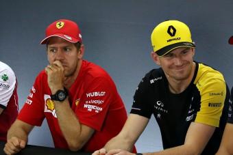 Vettel: Baj van a Forma-1-gyel