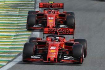 F1: Vetteléket a szőnyeg szélére állítják