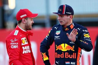 F1: Verstappent is meglepte Vettel