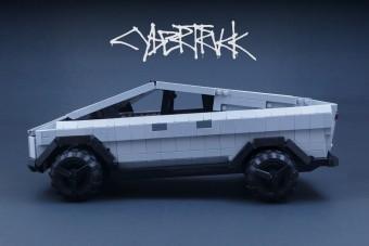 Hamarabb készül el a LEGO Cybertruckja, mint a Tesláé?