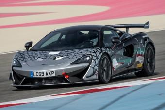 Utcára szelídítették a McLaren versenyautóját