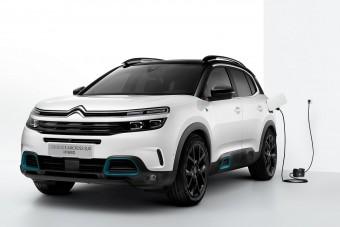 Megérkezett a Citroën konnektoros hibrid crossovere