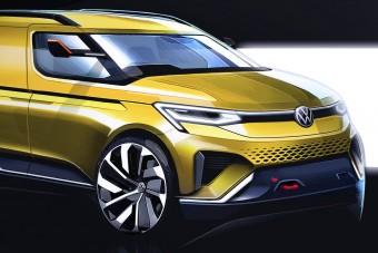 Új kisfurgon jön a Volkswagentől