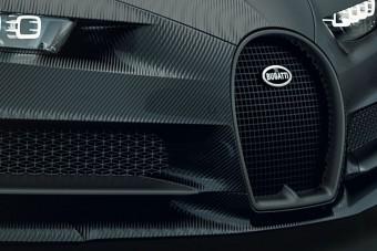 Éjfekete különkiadásban a Bugatti Chiron
