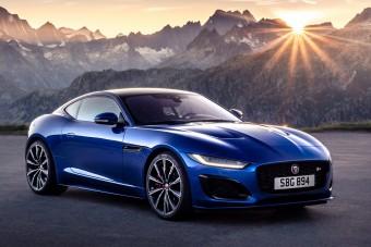 Teljesen átrajzolták a Jaguar F-Type-ot