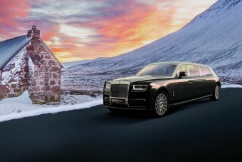 Elnökök álma ez a Rolls-Royce limuzin