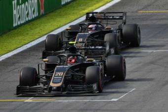 F1: A Haas is túl van a törésteszten
