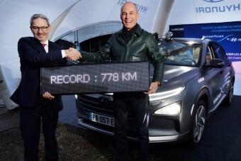 Távolsági rekord hidrogénnel