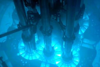 Nem csak filmeken látványos, ahogy egy atomreaktor beindul
